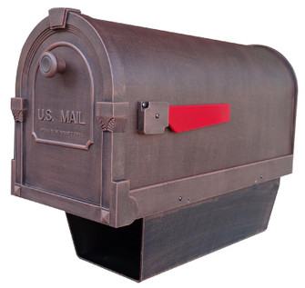 SCS-2014-CP Savannah Curbside Mailbox With Paper Tube (278|SCS2014CP)