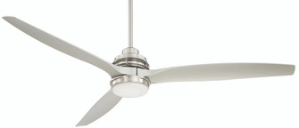 60 inches  Artiste Fan DC Motor Damp Rated 3 Bl. W/Light (ATBN)