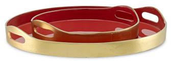 Riya Red Tray Set (92 12000362)
