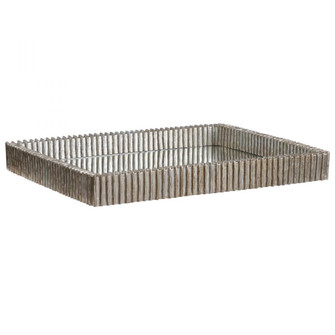 Uttermost Talmage Silver Mirrored Tray (85 17732)