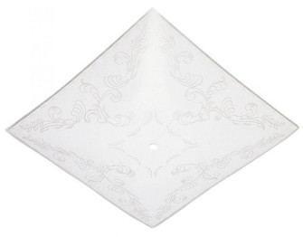 Clear Floral Design on White Diffuser (32 8181000)