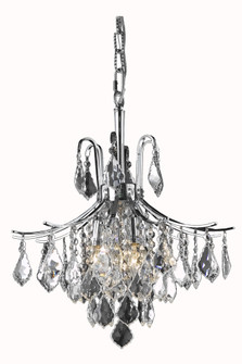 Amelia Collection Pendant D16in H20in Lt:6 Chrome Finish? (758|LD8100D16C)