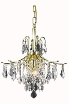 Amelia Collection Pendant D16in H20in Lt:6 Gold Finish? (758|LD8100D16G)