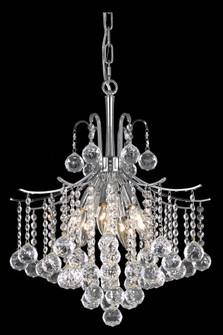 Amelia Collection Pendant D17in H20in Lt:6 Chrome Finish? (758|LD8200D17C)