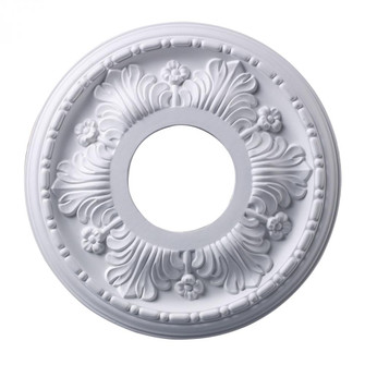 Acanthus Medallion 11 Inch in White Finish (91 M1000WH)