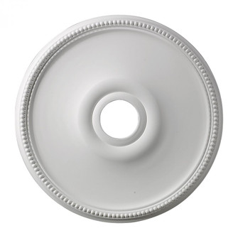 Brittany Medallion 19 Inch in White Finish (91 M1003)