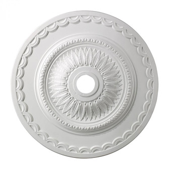 Brookdale Medallion 30 Inch in White Finish (91 M1008WH)