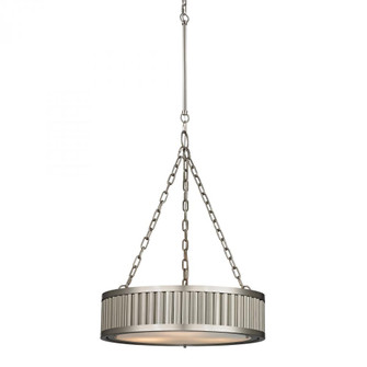 Linden Collection 3 light pendant in Brushed Nickel (91|461143)