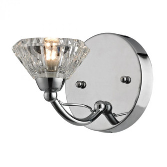 Hawthorne Collection 1 light bath in Polished Chrome (91 461451)