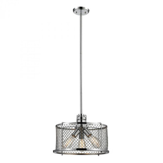 Brisbane Collection 3 light pendant in Polished Chrome (91|550023)