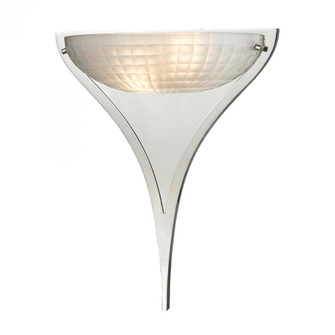 Sculptive 2 Light Wall Sconce In Polished Chrome (91 117602)