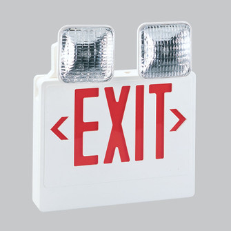 LED EXIT & EMERGENCY COMBO W/R (104|NEX711LEDR)