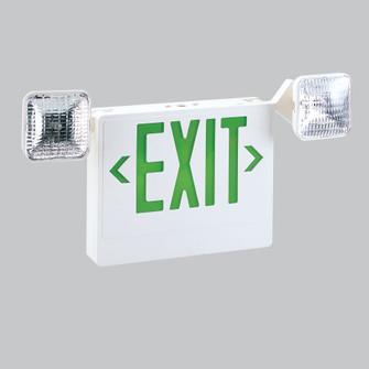 LED EXIT & EMERGENCY COMBO W/R (104|NEX711LEDG)