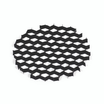 HEX CELL LOUVER FOR 2IN & 4IN (104 NIOHC)