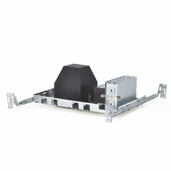 4'' Square Non-IC AT Low Voltage Housing, New Construction, Mag. Transformer, Max 20W (104 NL408AT20)