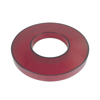5'' Cobalt Click Decorative Ring, Frosted Red w/ White Reflector (104|NLCBC25DRFR)