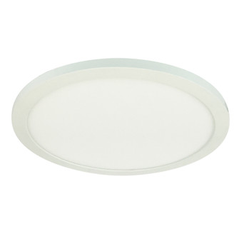 11'' ELO Surface Mounted LED, 1700lm / 24W, 3000K, 80+ CRI, 120V Triac/ELV Dimming, Wh (104|NELOCAC11R30W)