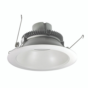 6'' Cobalt Click 1000LM LED Retrofit, Round Reflector, 12W, 4000K, White, 120V Triac/ELV Dimming (104|NLCBC265140WW10)