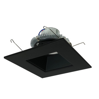 6'' Cobalt Click 1000LM LED Retrofit, Square/Square Regress, 12W, 4000K, Black, 120V Triac/ELV D (104|NLCBC265640BB10)