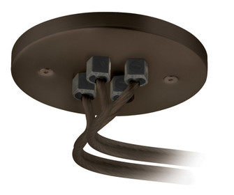 Dual Feed Remote Canopy Soft Feeder Connector Bronze (1381|CSCPSFTDUBZ)