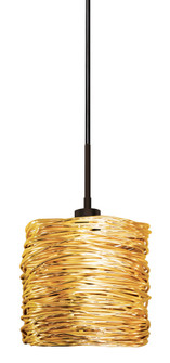 Pendant Coil Short Gold Polished Nickel Hal G4 35W 700lm Monopoint (1381|PD537GOPNX3M)