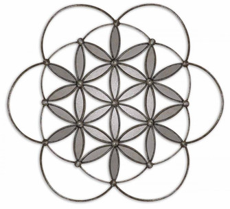 Uttermost Baiano Decorative Metal Mirror (85|08089)