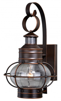 Chatham Motion Sensor Dusk to Dawn Outdoor Wall Light Burnished Bronze (51|T0249)