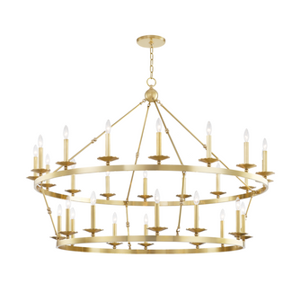28 LIGHT CHANDELIER (57|3228AGB)