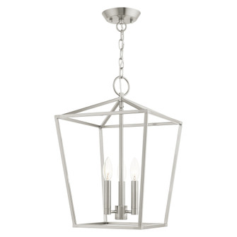 3 Lt Brushed Nickel Convertible Lantern (108|4943391)