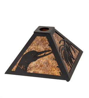 12'' Square Loon Pine Needle Shade (96 232662)