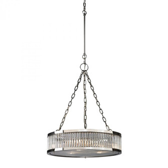 Linden Manor 3-Light Chandelier in Polished Nickel with Diffuser (91|461053)