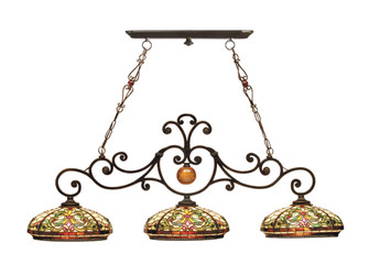 Boehme 3-Light Tiffany Hanging Fixture (208|TH101071)