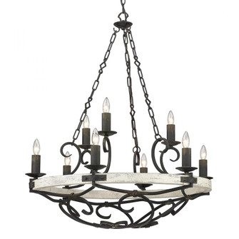Madera 9 Light Chandelier (36|18219ABICDW)