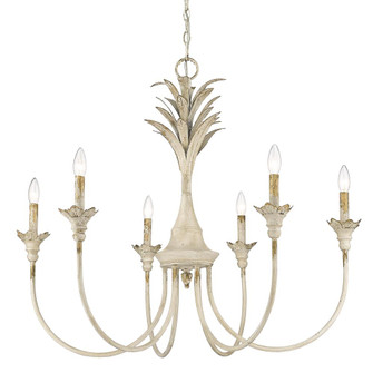 Lillianne 6 Light Chandelier (36|08466AI)