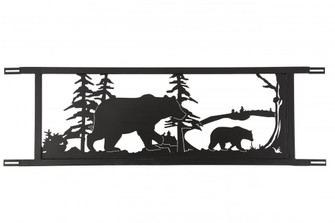94.5W Neversink Bridge Black Bear Decor (96|179786)