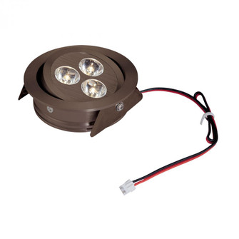 Tiro3 3-Light Directional 31-Watt LED Downlight (without Driver) in Oiled Bronze with Clear Lens (91 WLE123C32K045)