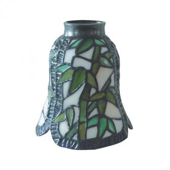 MIX-N-MATCH 1-LIGHT BAMBOO GLASS ONLY-975261 (91 99925)