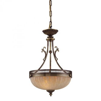 COLCHESTER 2- LIGHT PENDANT in AN ENGLISH BRASS FINISH (91|82022)