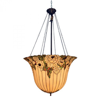 RUHLMANN 6-LIGHT PENDANT IN TIFFANY BRONZE W/HIGHLTS (91|653TBH)