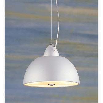 SATIN NICKEL PENDANT with POLISHED ACCENTS (91|38432)