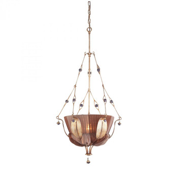 OLIVISSA COLLECTION 1-LIGHT PENDANT in A BRONZED SILVER FINISH --- (91|27031)