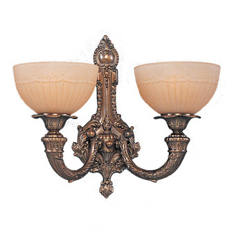 Regal 2 Light Wall Sconce In Olde Antique Brass (91|15402)