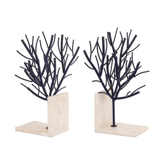 Aldous Bookends (Pair) with Dark Finish (7480|8996009S2)