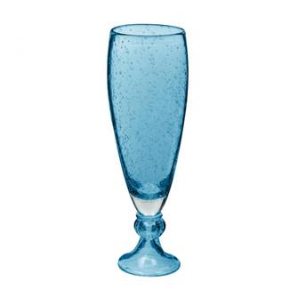 Bubbled Pool Blue Vase - sm (7480|787170)