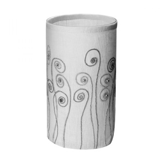 Fiddle Head Votive with Silver Stitching - Large (7480|625041)