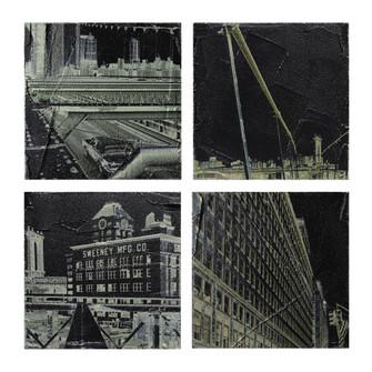 City (Exclusive Pierpaolo De Bona Print on Canvas) (7480|146024S4)