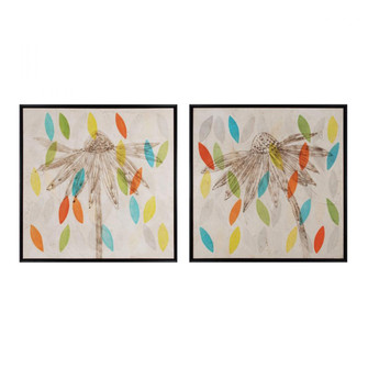 Petals I and II - Set of 2 (Giclee on Canvas, Framed) (7480|10231S2)