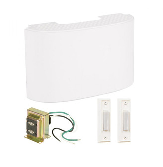 Kit includes Chime, Transformer, 2 White Buttons (20|CK2000W)