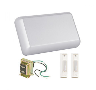 Kit includes Chime, Transformer, 2 White Buttons (20|CK1000BN)