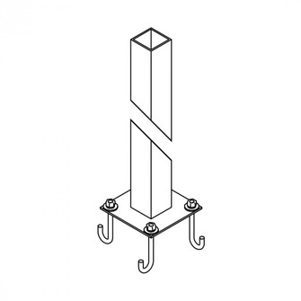 Square Post Outdoor (65 39012377)